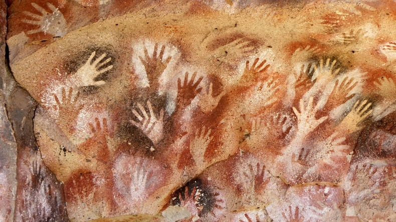 Ancient Cave of Hands in Patagonia Argentina 10
