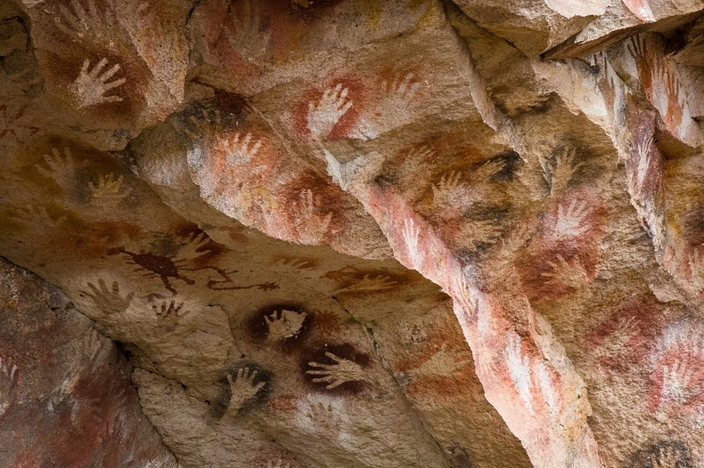 Ancient Cave of Hands in Patagonia Argentina 11