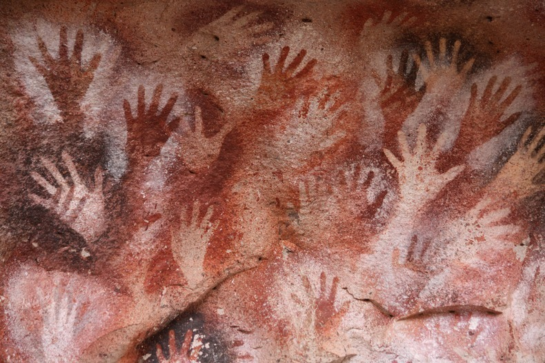 Ancient Cave of Hands in Patagonia Argentina 7