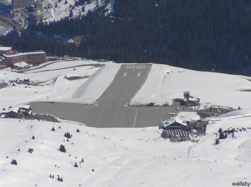 Courchevel Altiport, France