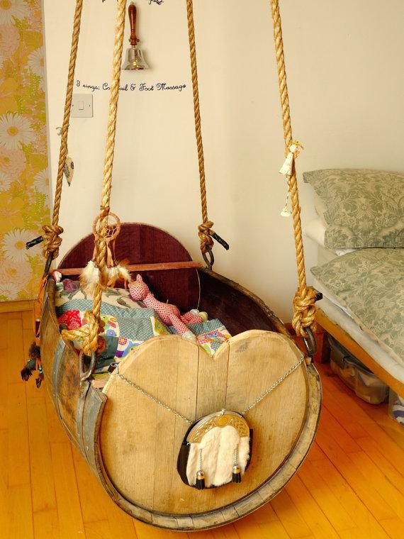Handmade Baby Cradle 2
