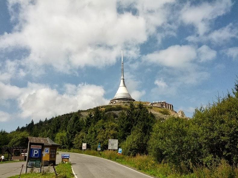 Jested Tower Hotel in Czech Republic