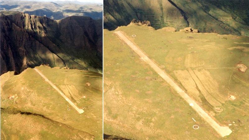 Matekane Air Strip, Lesotho