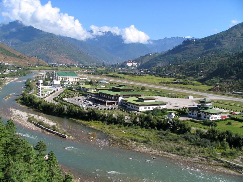 Paro Airport Bhutan's