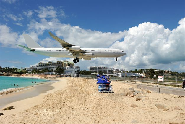 Princess Juliana International Airport, St. Maarten, Caribbean