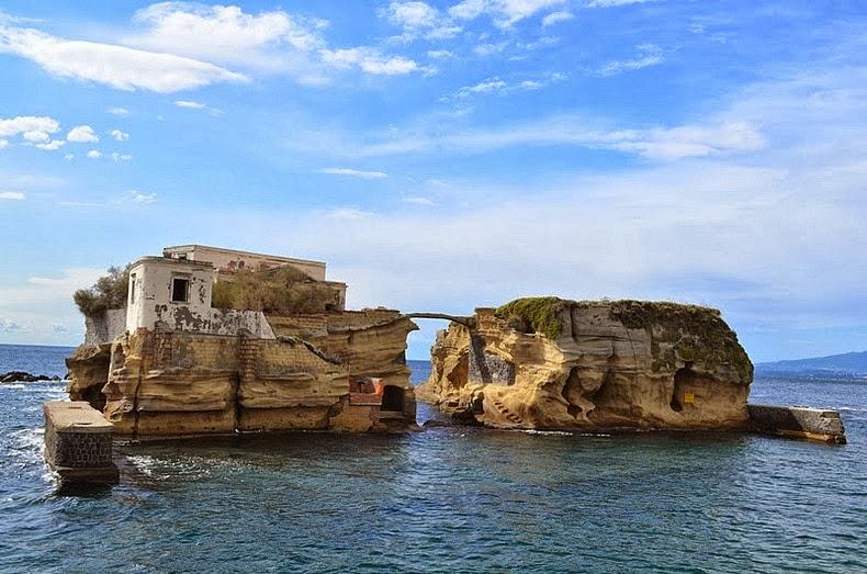 The Cursed Island of Gaiola Italy