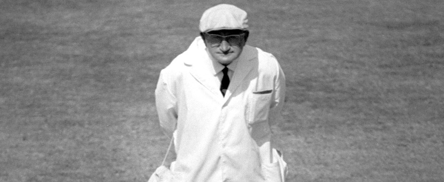 Tom Spencer stood in 570 county games as umpire