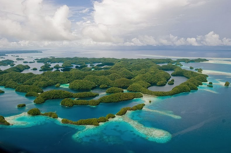 Beautiful The Rock Islands of Palau Re-Known for Their World's Best Beaches. 1