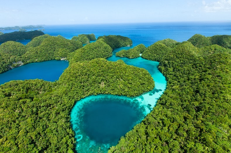 Beautiful The Rock Islands of Palau Re-Known for Their World's Best Beaches. 2