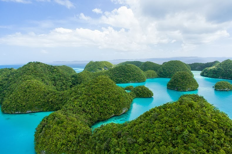 Beautiful The Rock Islands of Palau Re-Known for Their World's Best Beaches. 4