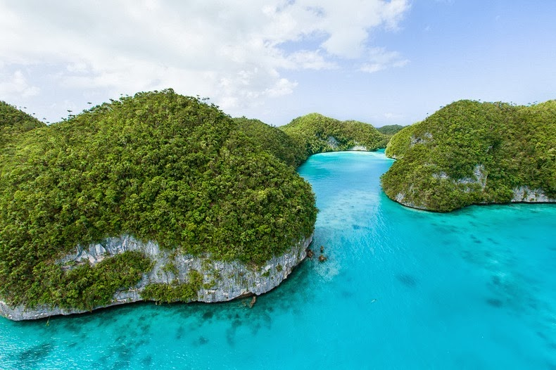 Beautiful The Rock Islands of Palau Re-Known for Their World's Best Beaches. 5