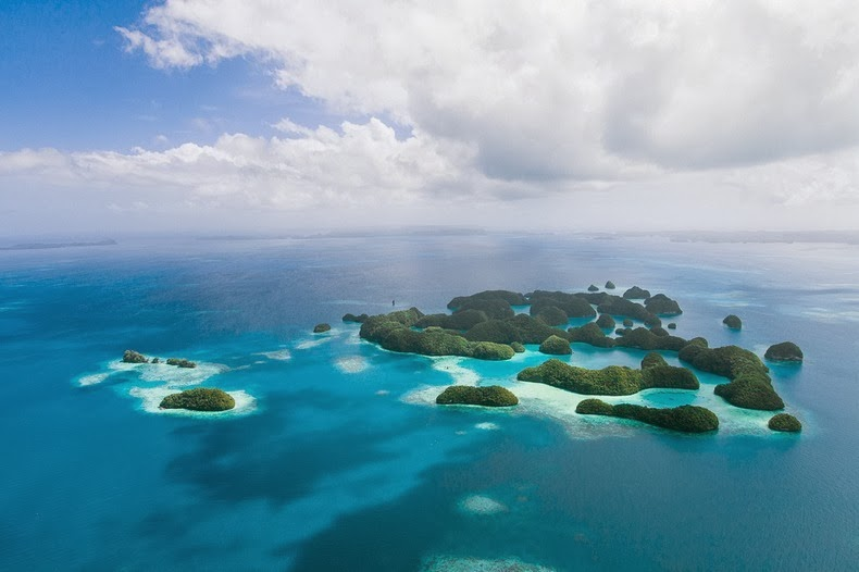 Beautiful The Rock Islands of Palau Re-Known for Their World's Best Beaches. 6