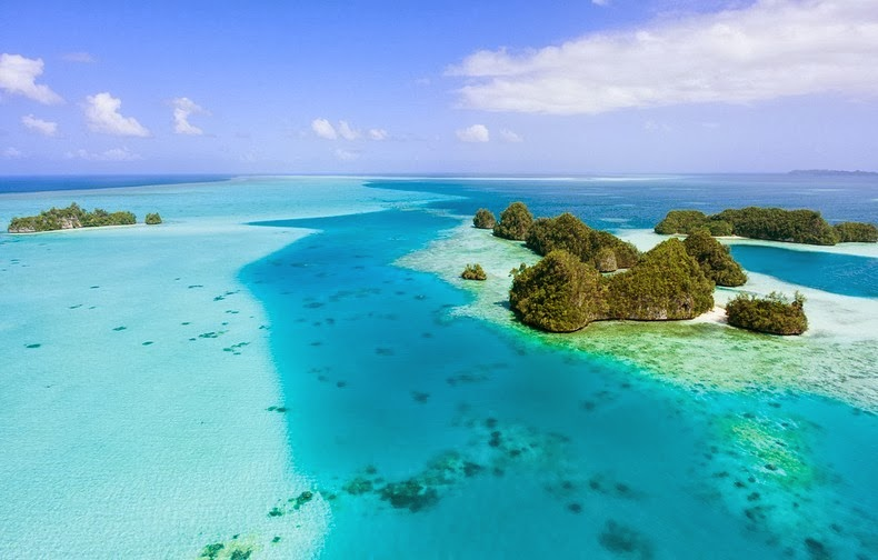 Beautiful The Rock Islands of Palau Re-Known for Their World's Best Beaches. 9