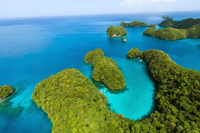 Beautiful The Rock Islands of Palau Re-Known for Their World's Best Beaches.3