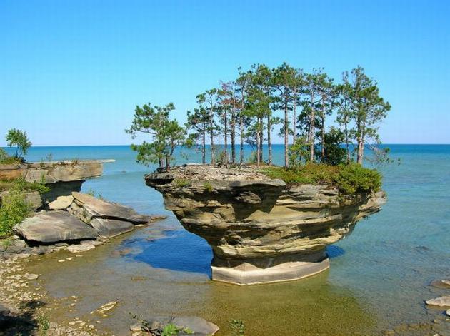 Lake Huron in USA 1