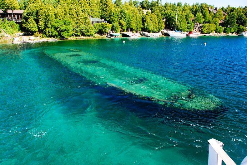 Lake Huron in USA 11