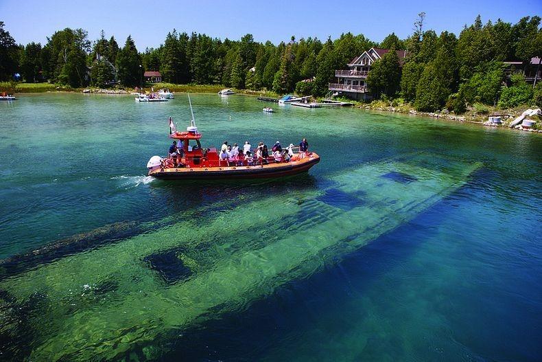 Lake Huron in USA 12