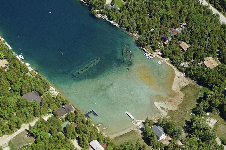 Lake Huron in USA 17