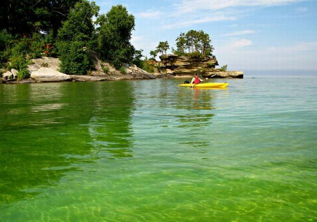 Lake Huron in USA 5