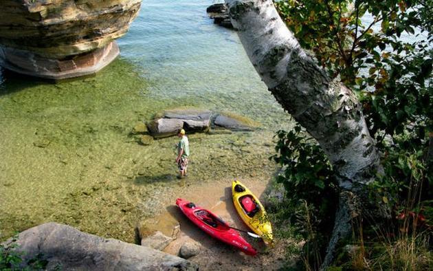 Lake Huron in USA 6