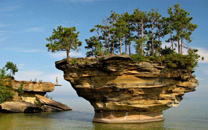 Lake Huron in USA