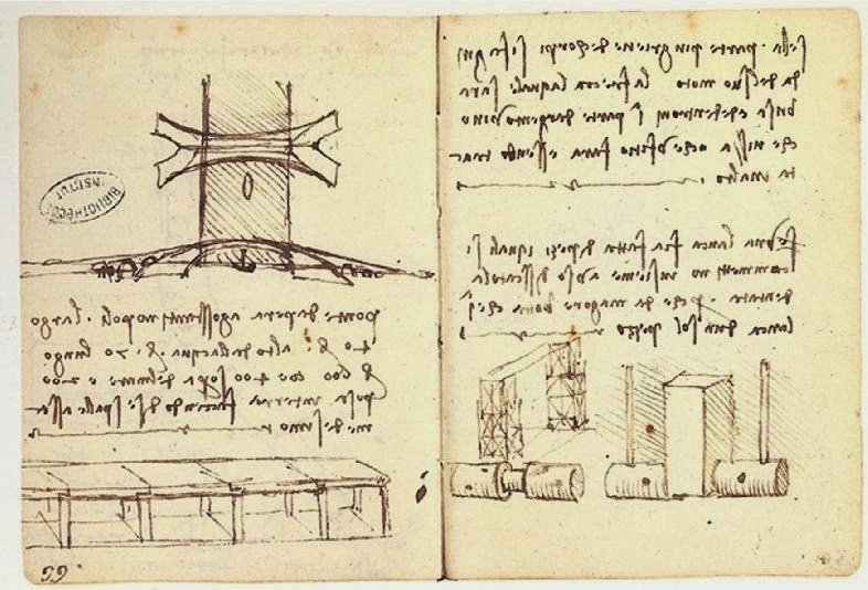 In 1501, Leonardo da Vinci made a sketch of a 240-meters long single span bridge that was to be built over the Golden Horn