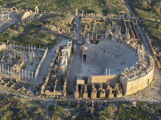 Leptis Magna Roman Ruins of Libya 41