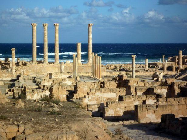 Säulen des Jupiter-Tempels