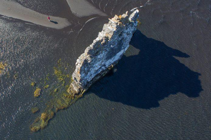 Mysterious Hvitserkur Shaped Rock in the Gulf of Hunafloui 6
