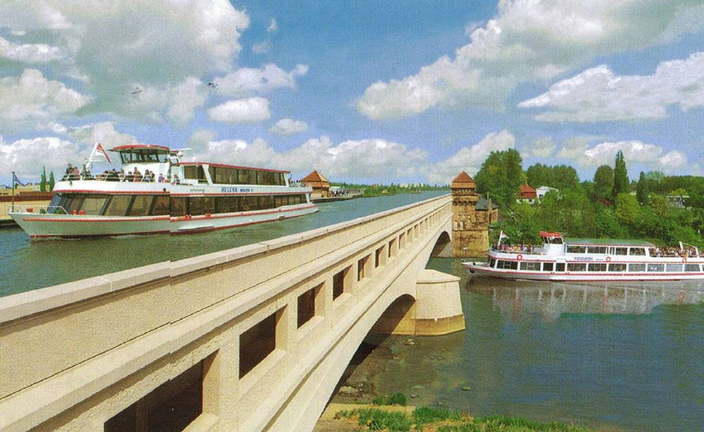The Incredible Magdeburg Water Bridge in Germany 9