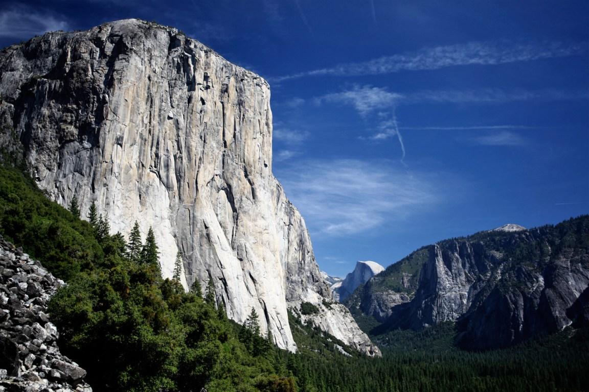 Yosemite Valley Sierra Nevada Of California Usa