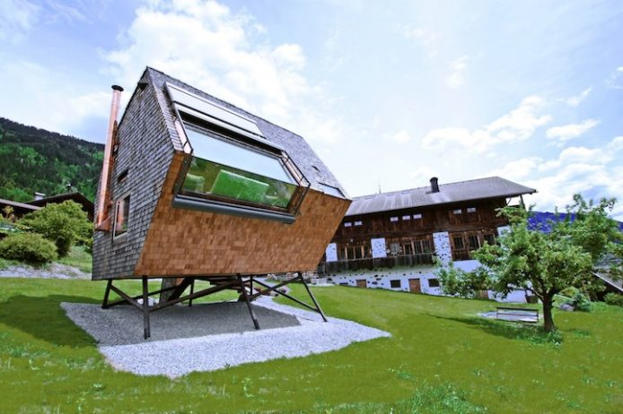 Compact Home Designed for spectacular Views of the Alps1