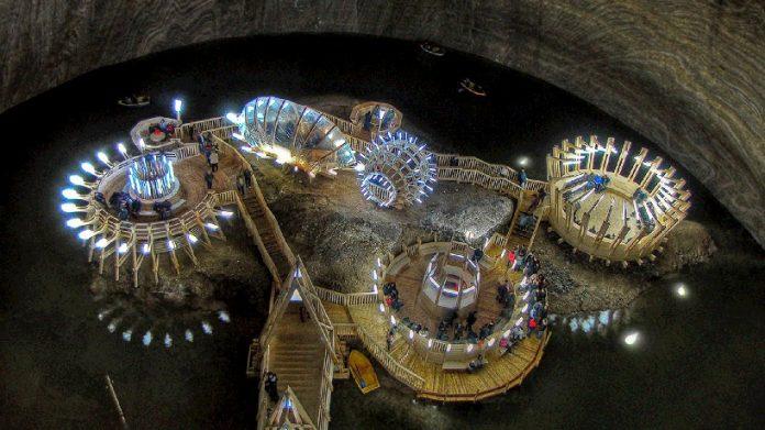 Salina Turda Salt Mines transform to History Museum