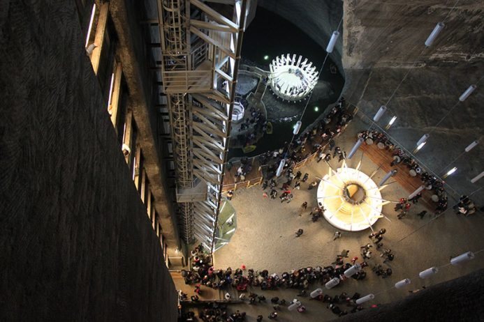 Salina Turda Salt Mines transform to History Museum12