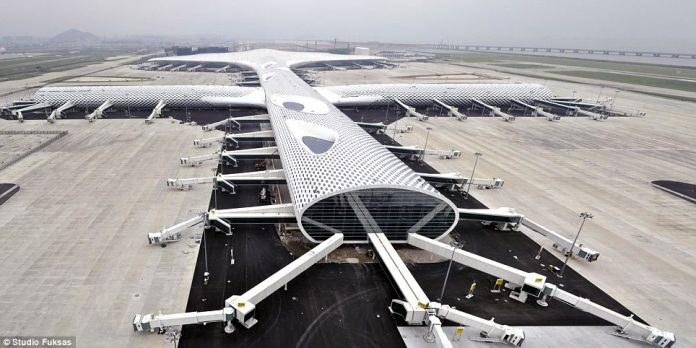 Shenzhen Flashy New Airport Terminal