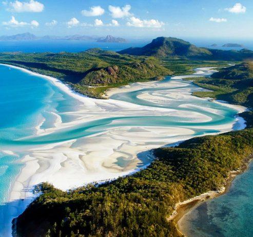 White Sandy Beaches Australia 24