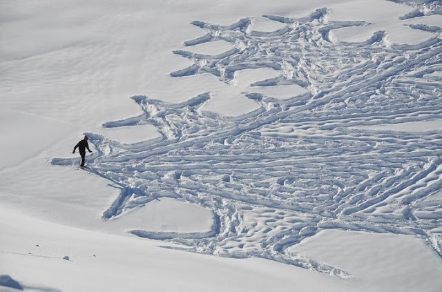 simon beck snow art -1
