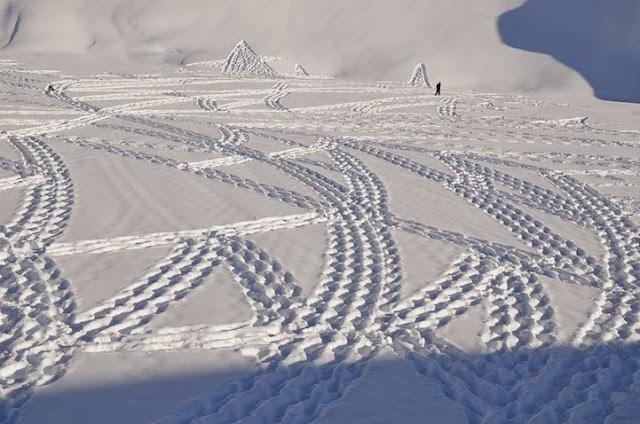 simon beck snow art -3