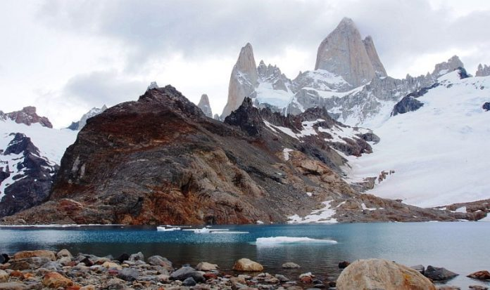 "Breathtaking Natural Mountain ""Fitz Roy"" is a Popular Tourists Destination at the border of Argentina and Chile 33."