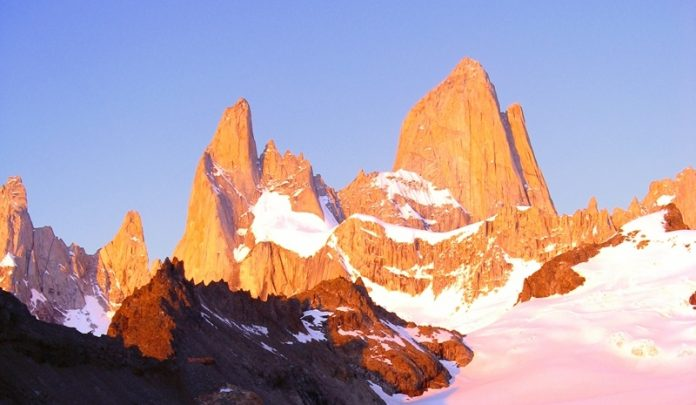 "Breathtaking Natural Mountain ""Fitz Roy"" is a Popular Tourists Destination at the border of Argentina and Chile. 13"