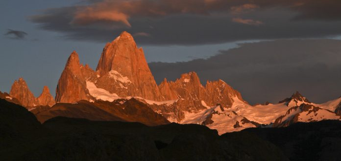 "Breathtaking Natural Mountain ""Fitz Roy"" is a Popular Tourists Destination at the border of Argentina and Chile. 15"