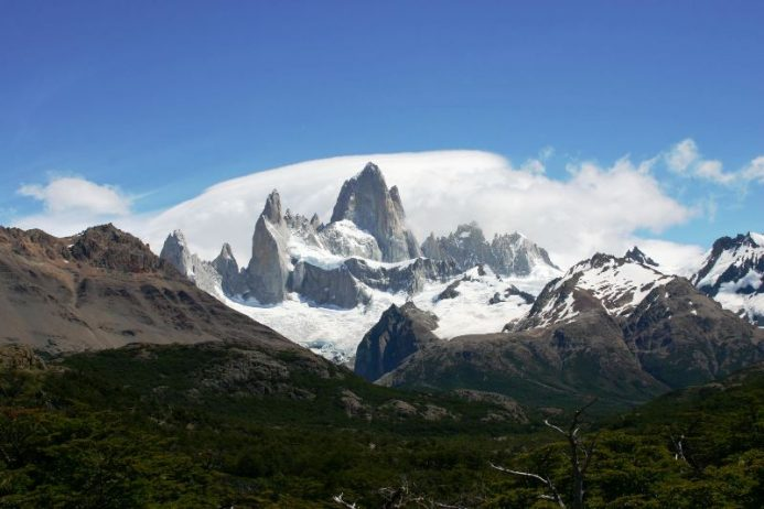 "Breathtaking Natural Mountain ""Fitz Roy"" is a Popular Tourists Destination at the border of Argentina and Chile. 21"