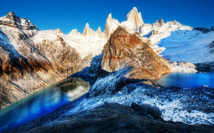 "Breathtaking Natural Mountain ""Fitz Roy"" is a Popular Tourists Destination at the border of Argentina and Chile. 24"