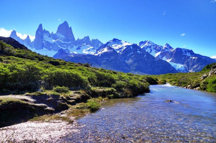 "Breathtaking Natural Mountain ""Fitz Roy"" is a Popular Tourists Destination at the border of Argentina and Chile. 5"