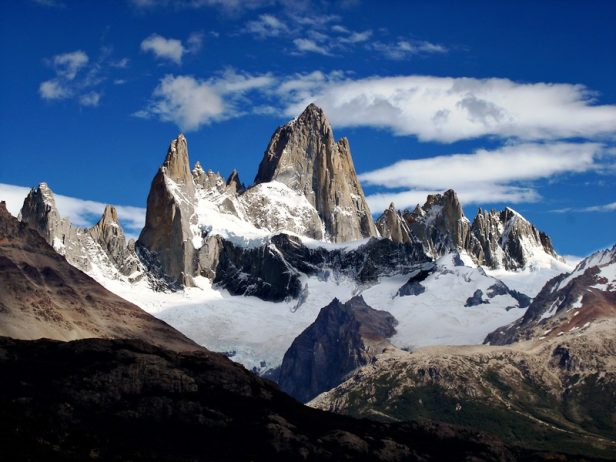 "Breathtaking Natural Mountain ""Fitz Roy"" is a Popular Tourists Destination at the border of Argentina and Chile. 8"