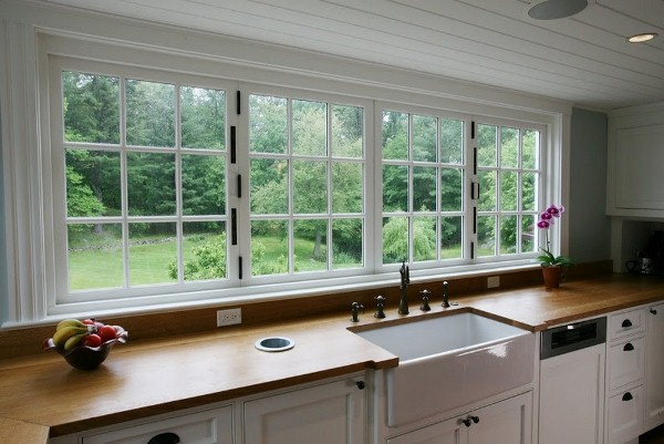 Large Kitchen Window Makes Substantial Difference In