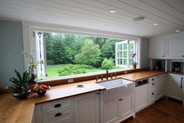 Large Kitchen Window Makes Substantial Difference in Appeal, Suitability and Space