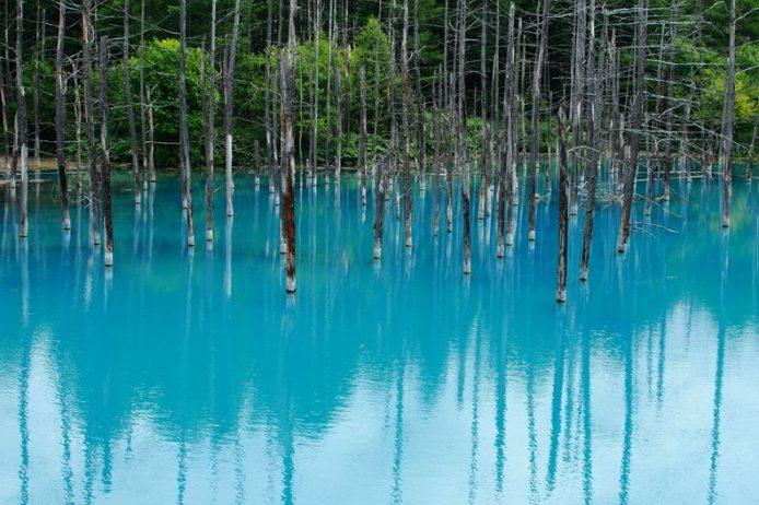 Blue Pond Haikkaido Japan3