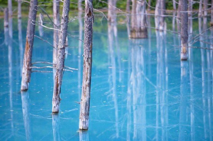 Blue Pond Haikkaido Japan4