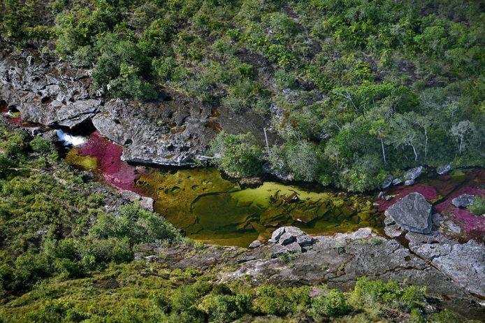 Cano Cristales a small river3